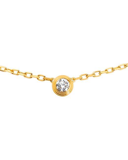 Cartier | Metallic Diamants Légers De 18ct Gold And Diamond Necklace | Lyst