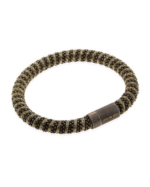 Carolina Bucci   Metallic Twister Bracelet Black Rhodium   Lyst