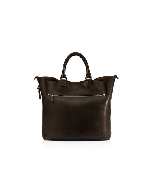 Shinola | Brown Pressed Essex Leather Tote for Men | Lyst