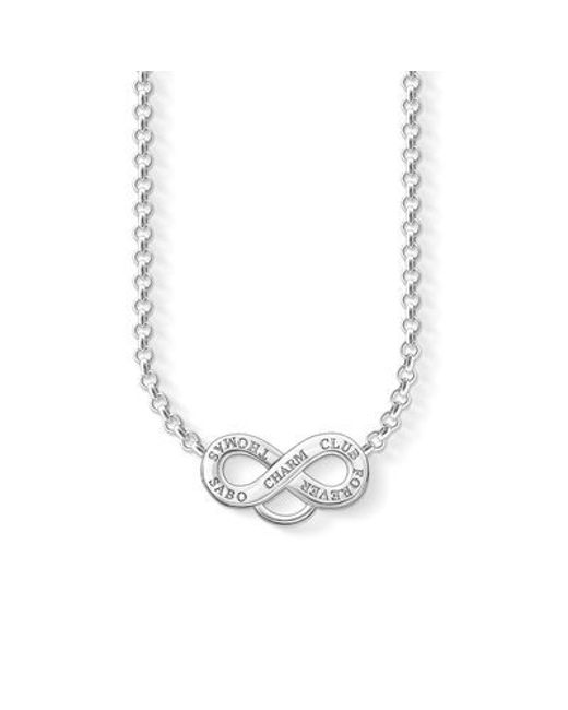 Thomas Sabo   Metallic Charm Club Infinity Bracelet   Lyst