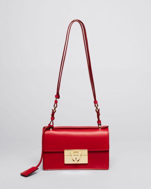 Ferragamo   Red Shoulder Bag - Aileen Mini   Lyst