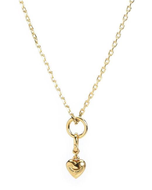 Juicy Couture | Metallic Mini Charm Necklace | Lyst