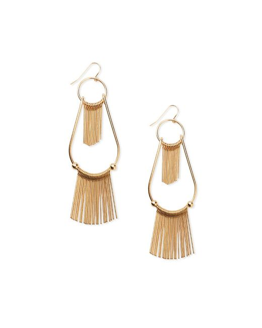 Forever 21 | Metallic Matchstick Drop Earrings | Lyst