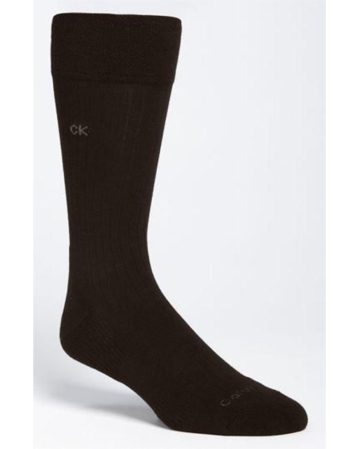 Calvin Klein | Blue 'ultra Fit' Socks for Men | Lyst