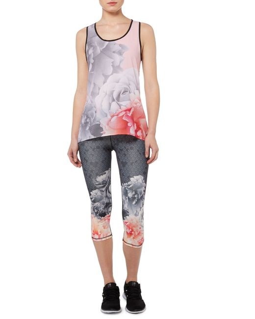 Ted Baker Monorose Sports Top In Black