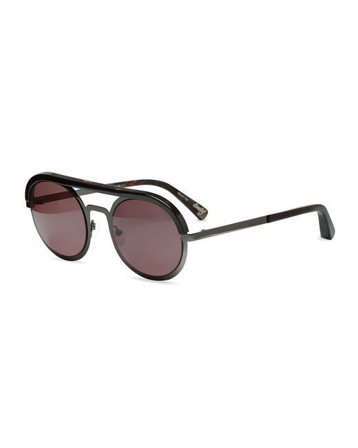 Elizabeth and James | Black Crosby Brow-bar Sunglasses | Lyst