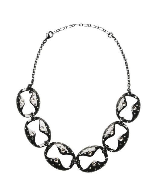 Ca&Lou | Black Necklace | Lyst