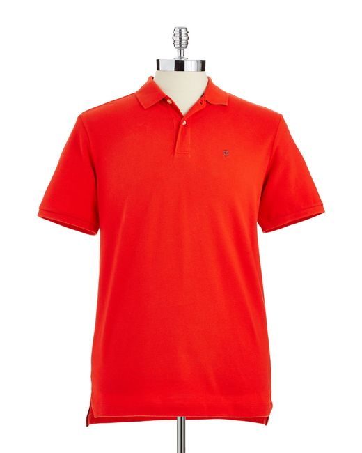 Victorinox | Red Stretch-cotton Polo for Men | Lyst