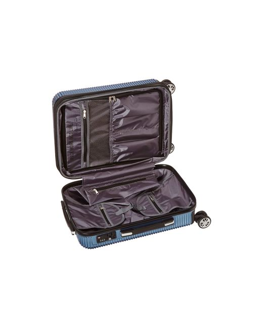 """Kenneth Cole Reaction   Blue Sudden Impact - 20"""" Expandable 8-wheel Carry-on   Lyst"""