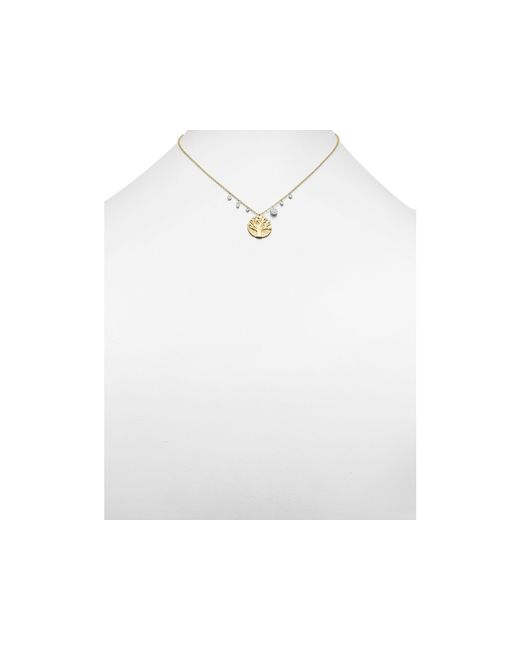 Meira T | Metallic 14k Yellow Gold Tree Of Life Necklace, 16"