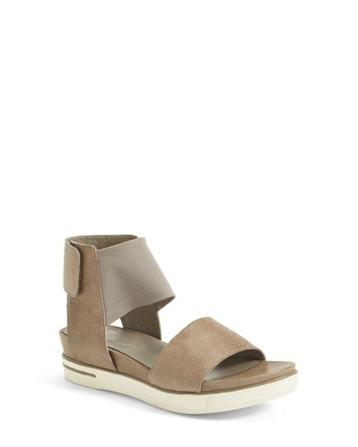 Eileen Fisher | Gray 'spree' Sport Sandal | Lyst