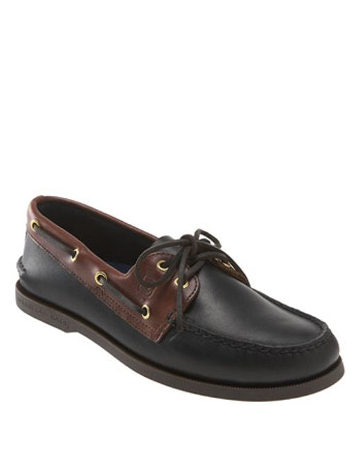 Sperry Top-Sider | Black 'authentic Original' Boat Shoe for Men | Lyst