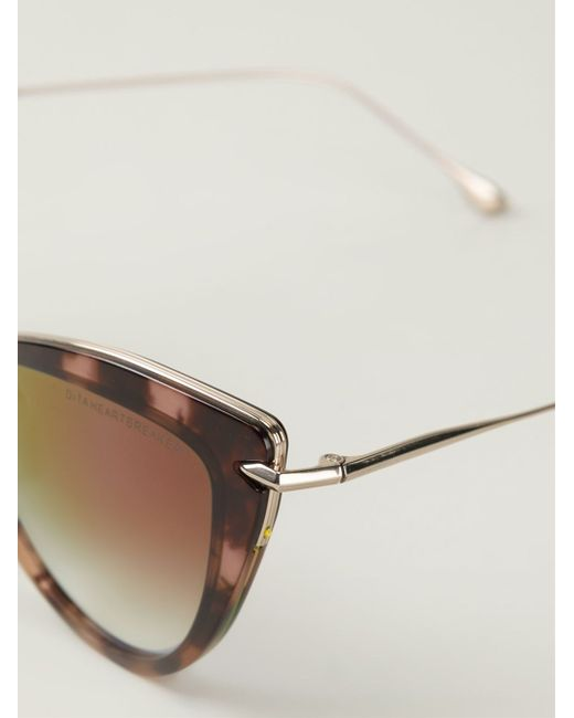 Dita eyewear 'heartbreaker' Sunglasses in Brown | Lyst Dita Eyewear
