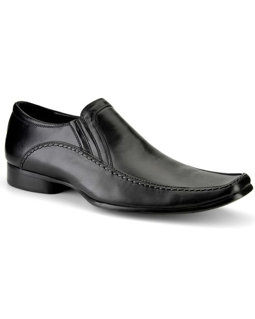 Kenneth Cole Reaction | Black Key Note Moc Toe Loafers- Extended Widths Available for Men | Lyst