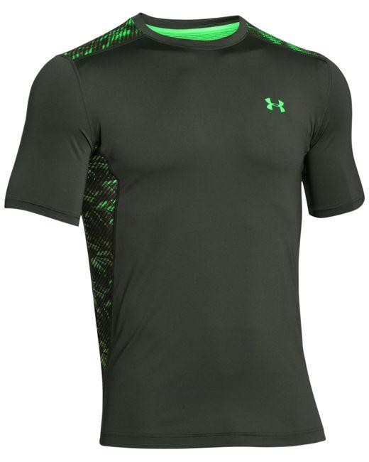 Under armour men 39 s heatgear printed back raid t shirt in for Printed under armour shirts