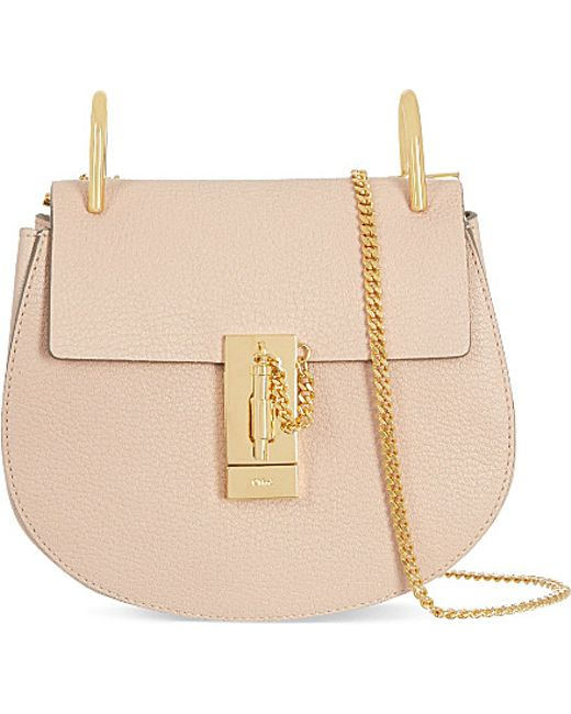 replica chloe elsie bag calfskin leather in black