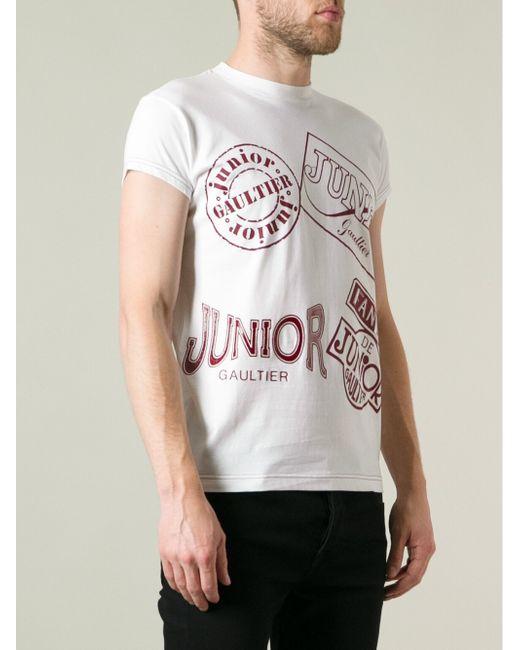 Smith t paul willow jean shirt gaultier