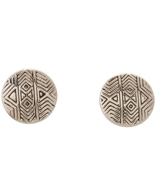 House of Harlow 1960 | Metallic Tholos Mosaic Stud Earrings | Lyst