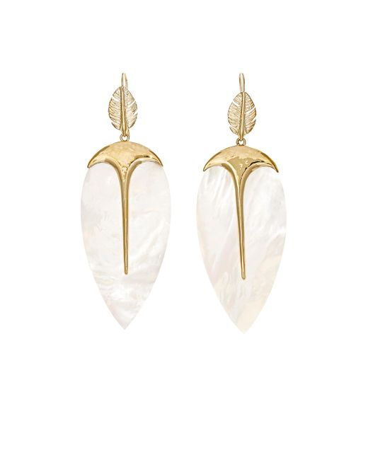 Aurelie Bidermann | Metallic Talitha Earrings | Lyst