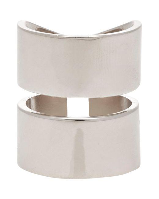 Jennifer Fisher   Metallic Women's Double Band Ring   Lyst