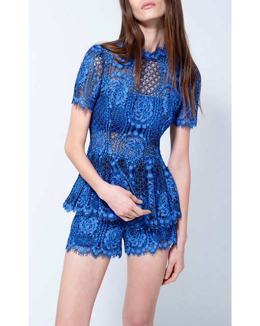 Find blue peplum lace at ShopStyle. Shop the latest collection of blue peplum lace from the most popular stores - all in one place.
