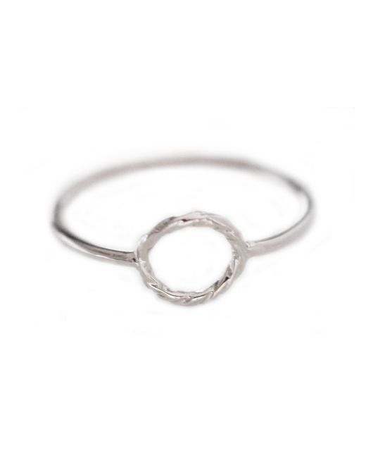 Cloverpost | Metallic Rope Ring | Lyst