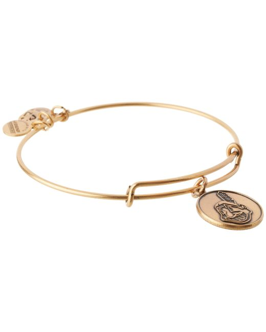 ALEX AND ANI | Metallic Mlb® Cleveland Indians Charm Bangle | Lyst
