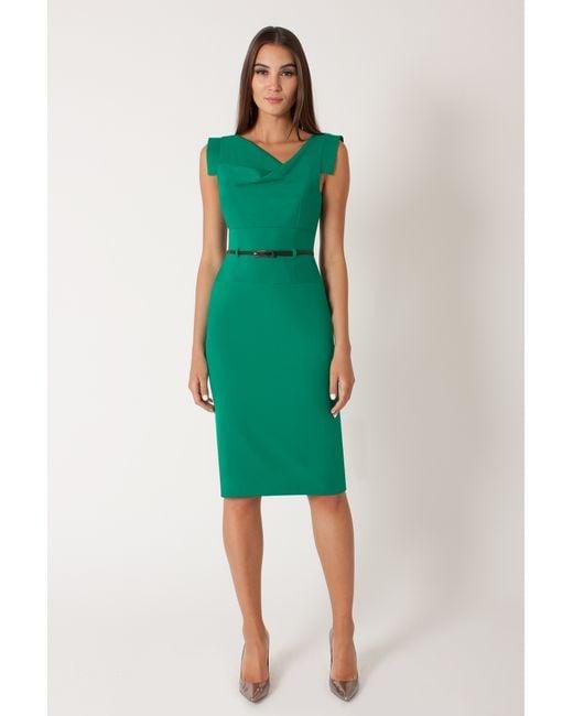 Black Halo | Green Jackie O Dress | Lyst
