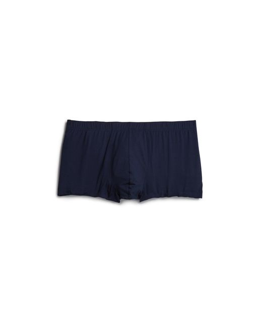 Hanro | Blue Cotton Supreme Boxer Briefs for Men | Lyst