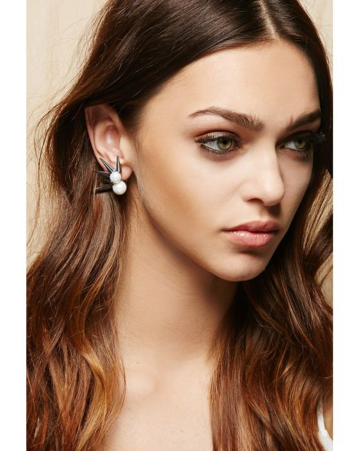 Forever 21 | Metallic Amber Sceats Liberty Ear Cuff | Lyst