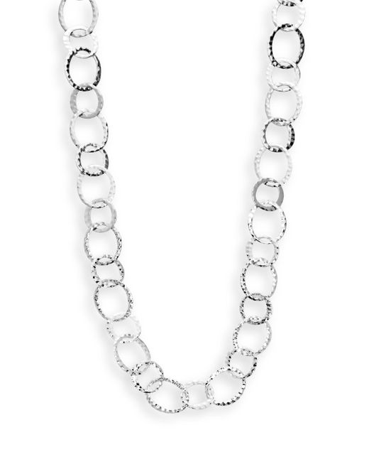 Saks Fifth Avenue | Metallic Hammered Multi-ring Necklace | Lyst