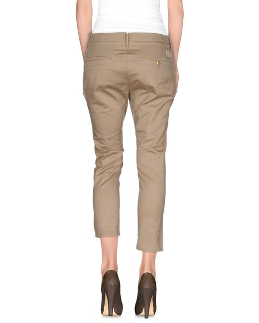 g star raw casual pants in natural lyst. Black Bedroom Furniture Sets. Home Design Ideas