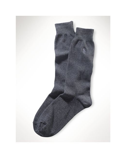 Polo Ralph Lauren | Gray Lightweight Trouser Socks for Men | Lyst