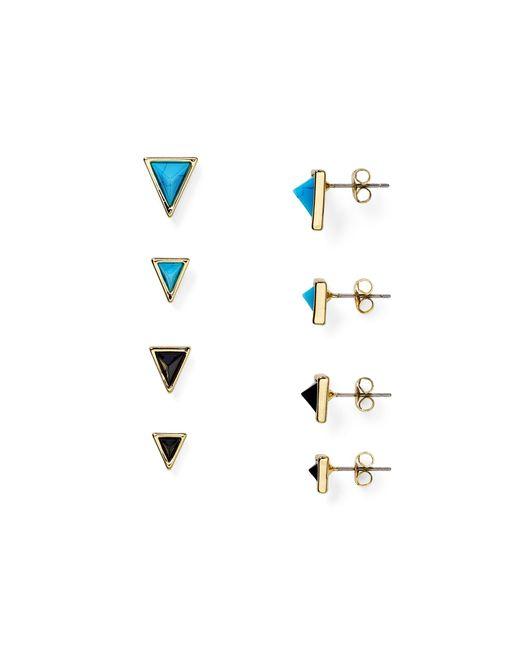 House of Harlow 1960 | Blue 1960 Meteoria Stud Earrings, Set Of 8 | Lyst