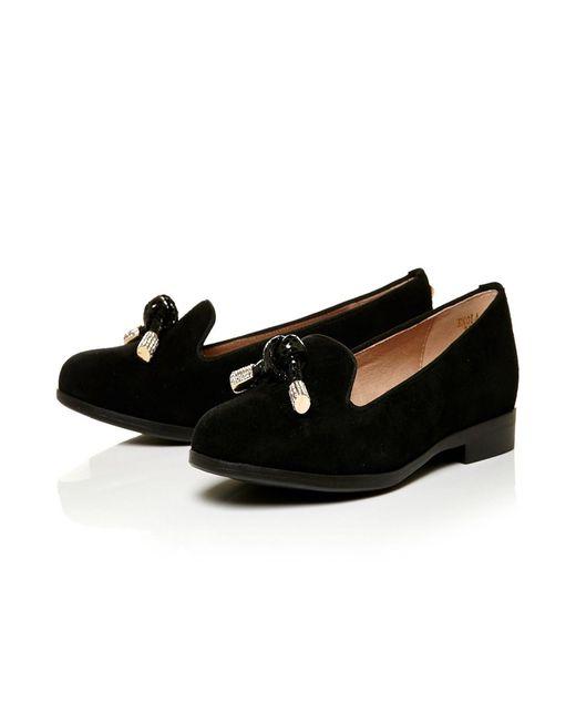 Moda In Pelle | Black Enola Low Smart Shoes | Lyst