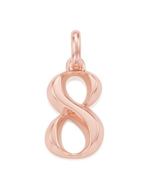 Monica Vinader | Pink Alphabet Pendant Number 8 | Lyst