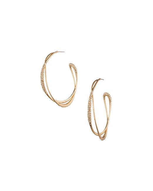 Alexis Bittar | Metallic Miss Havisham Encrusted Orbiting Hoop Earrings | Lyst