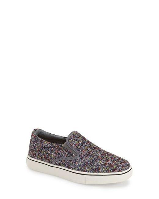 Bernie Mev | Gray 'verona' Slip-on Sneaker | Lyst