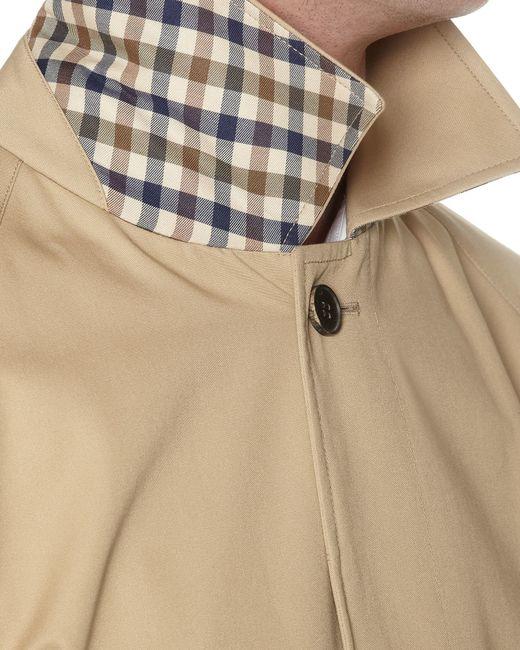 Aquascutum | Natural Sheerwater Raincoat for Men | Lyst