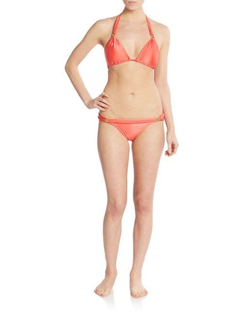 Vix Capadocia Bia Bikini Bottom in Red Lyst