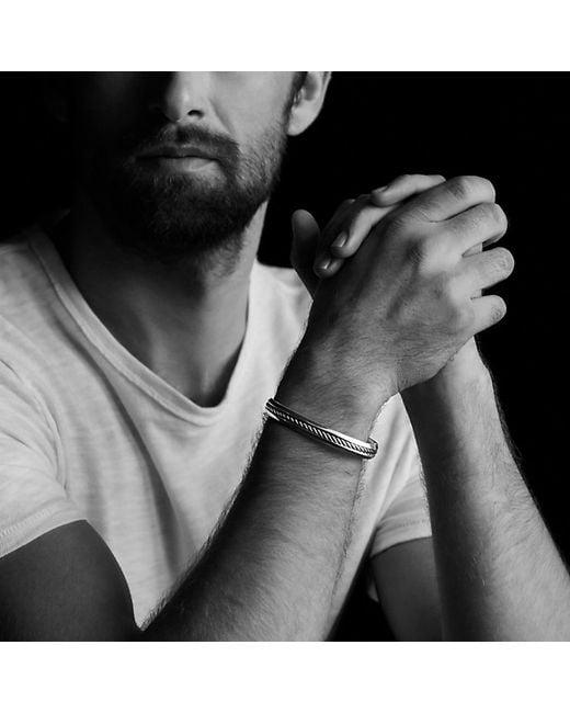 David Yurman | Metallic Cable Classic Cuff Bracelet for Men | Lyst