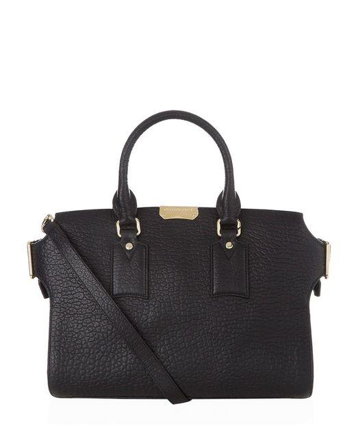 Burberry | Black Medium Clifton Bag | Lyst