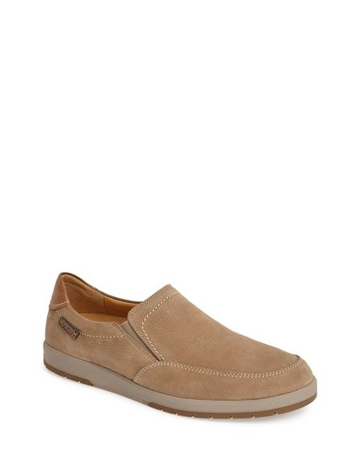 Mephisto | Brown 'leo' Leather Slip-on for Men | Lyst