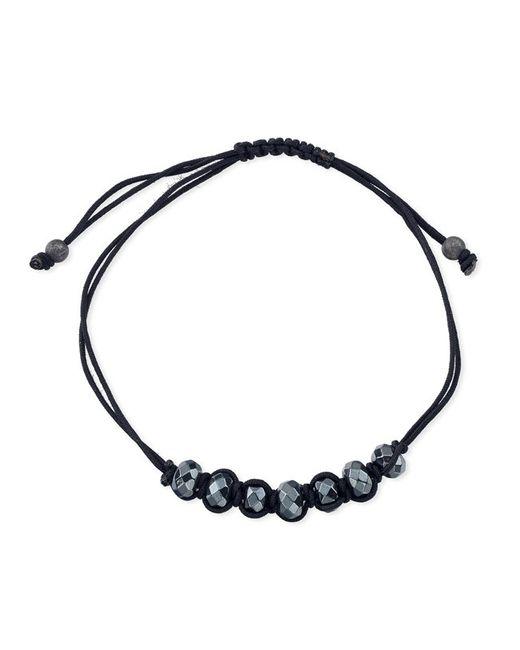 Anne Sisteron | Black Hematite Just Right Bracelet | Lyst