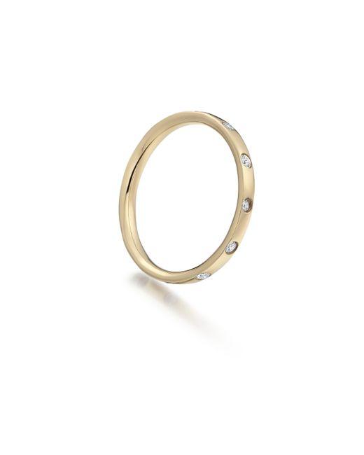 Monica Vinader | Metallic Skinny Crown Ring | Lyst