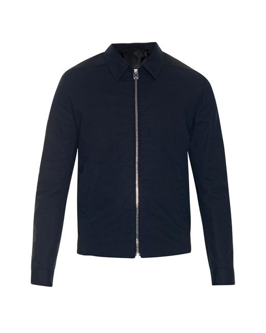 Balenciaga   Black Cotton Bomber Jacket for Men   Lyst