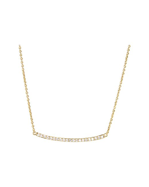 Gorjana | Metallic Taner Pave Bar Necklace | Lyst