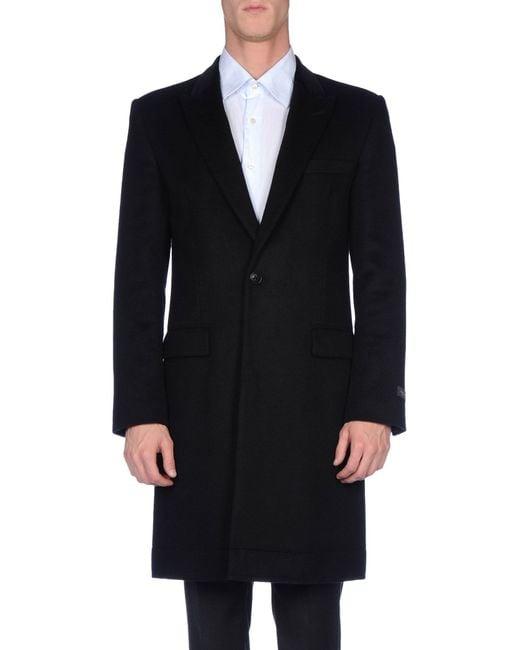 Marc Jacobs   Black Coat for Men   Lyst