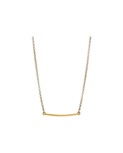 Dogeared   Metallic Balance Medium Square Bar Necklace   Lyst