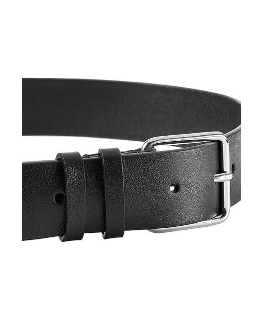jil sander leather belt in black lyst
